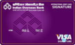 IOB Signature Card